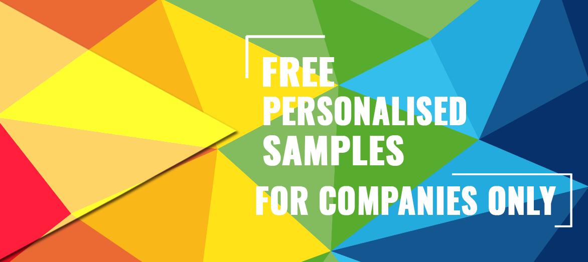 muestras gratuitas personalizadas